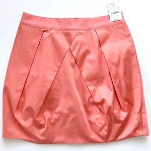 J. Crew Lunette Mini Tulip Skirt in Peach NWT